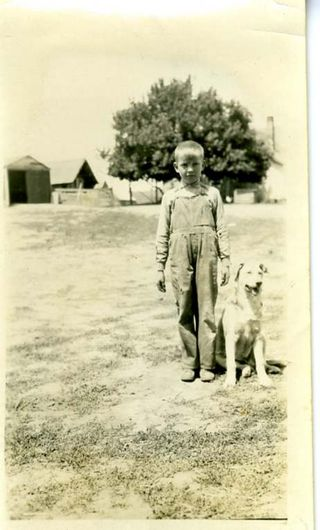 Dad with dog138