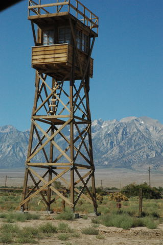 Guard tower manzanar
